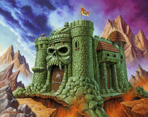 Masters of the Universe Print Set by Jason Edmiston x Super7 - Castle Grayskull