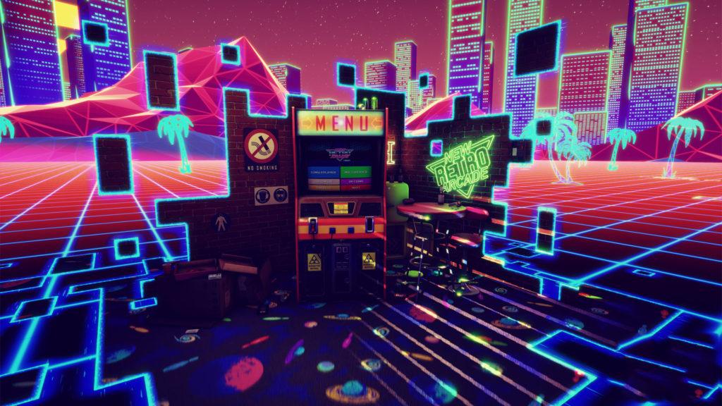 new-retro-arcade-neon-menu